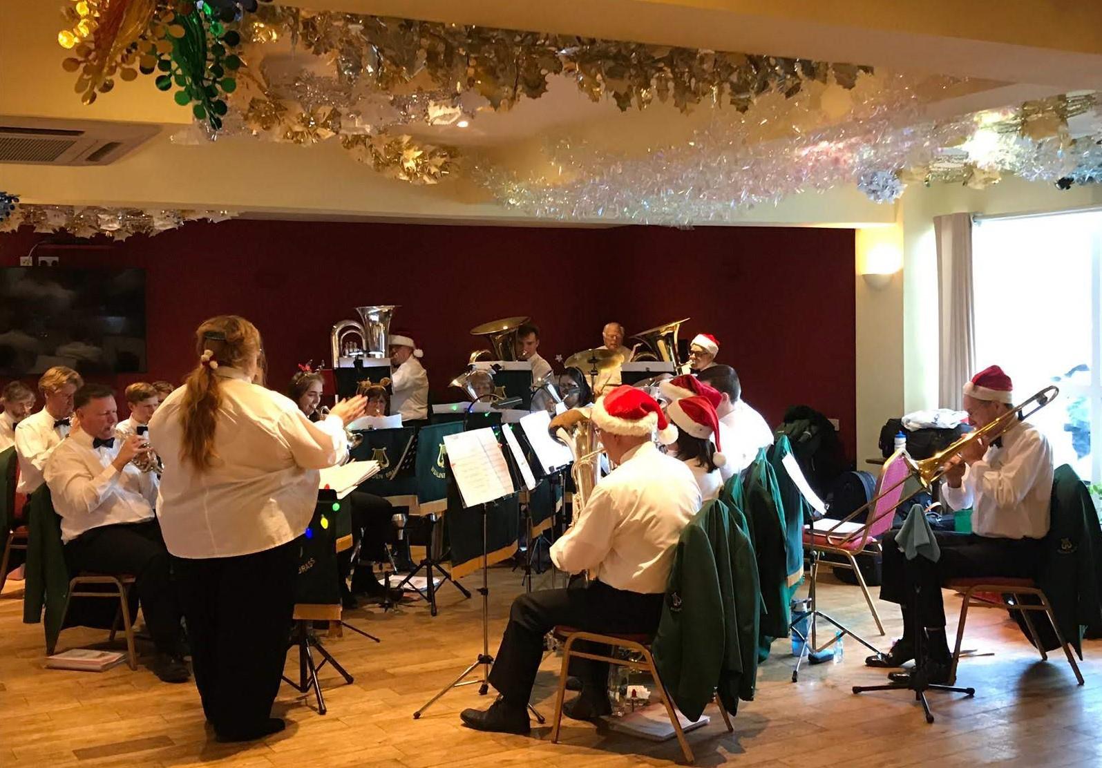 Christmas Concert, Kings Head, Horsebridge, Dec 2019