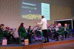 Christmas concert, Ropemaker Park, Hailsham, Dec 2019